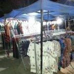 Clothes stalls at Luang Prabang Night Market
