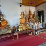 Shrine inside Wat Chom Si
