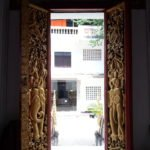 Doorway at Wat Ong Teu