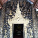 Doorway to the congregation hall at Wat Xieng Thong
