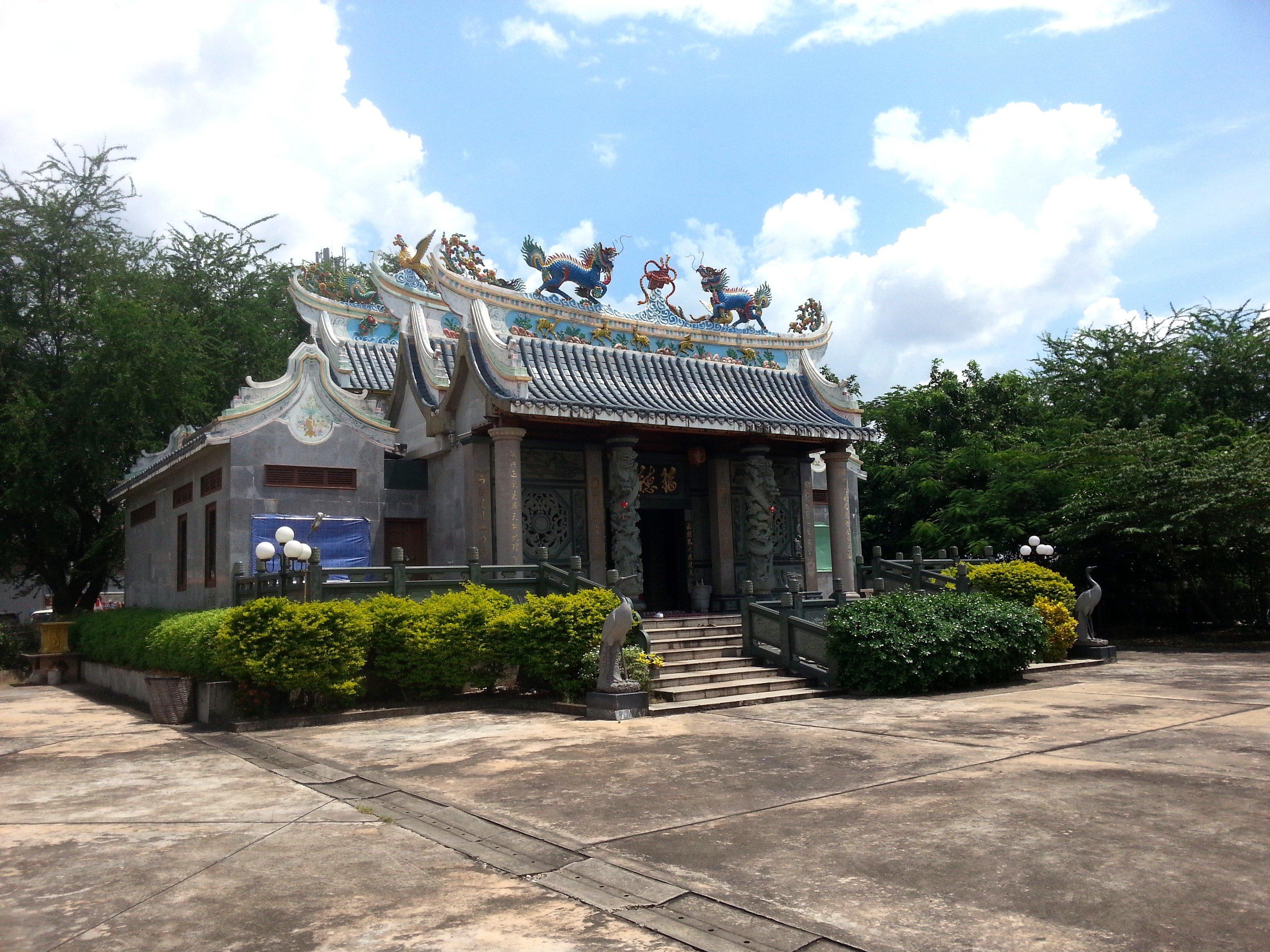 Fude Miao Temple in Vientiane