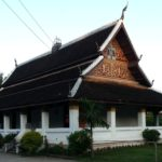 Congregation hall at Wat Aphay