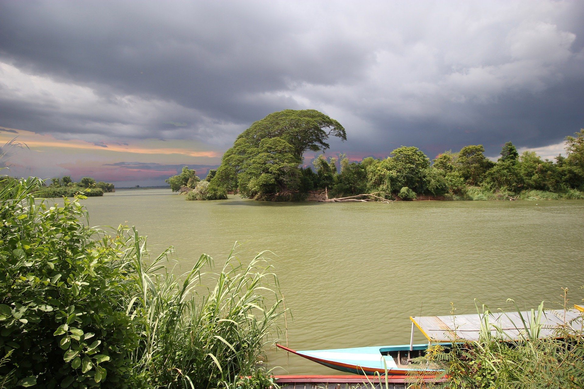 Mekong River at Don Det