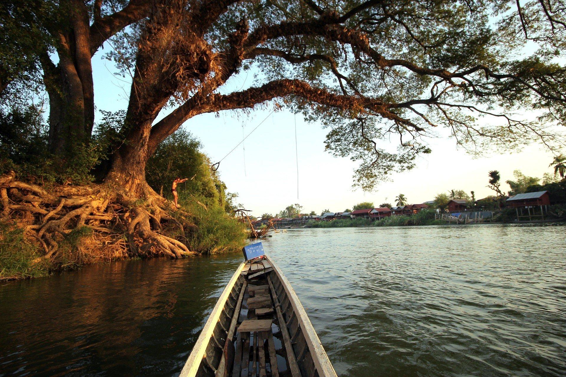 Mekong River around Don Det