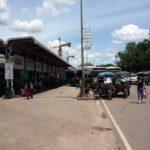 Bus platforms at Vientiane Central Bus Station