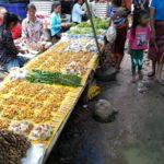 Mushrooms on sale at Xayaboury Market