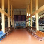 Waiting area at Vang Vieng South Bus Terminal