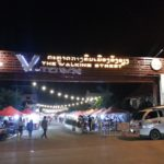 Walking Street in Vang Vieng