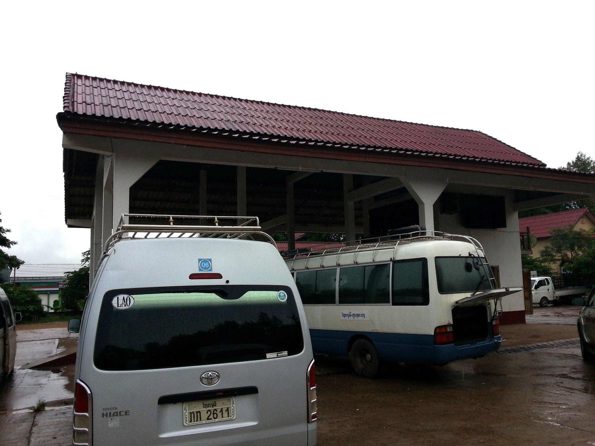 Xayaboury North Bus Station