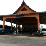 Xiengkhouang Bus Station in the Plain of Jars