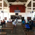 Waiting area at Luang Prabang Northern Bus Station