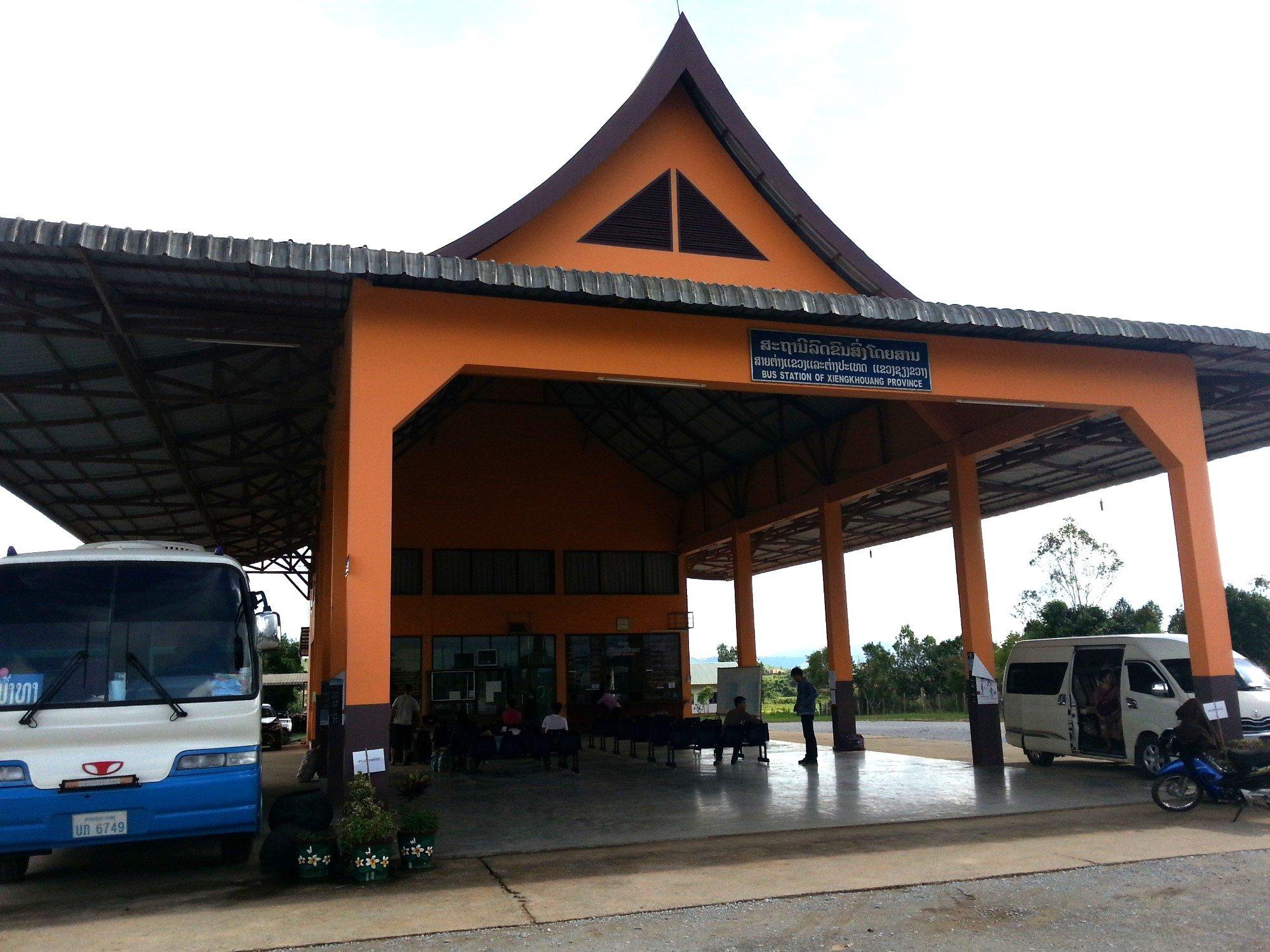 Arrival in Phonsavan