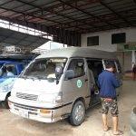 Phoukham Garden Bus Station in Phonsavan
