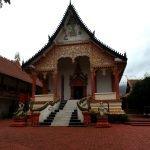 Prayer hall at Wat That