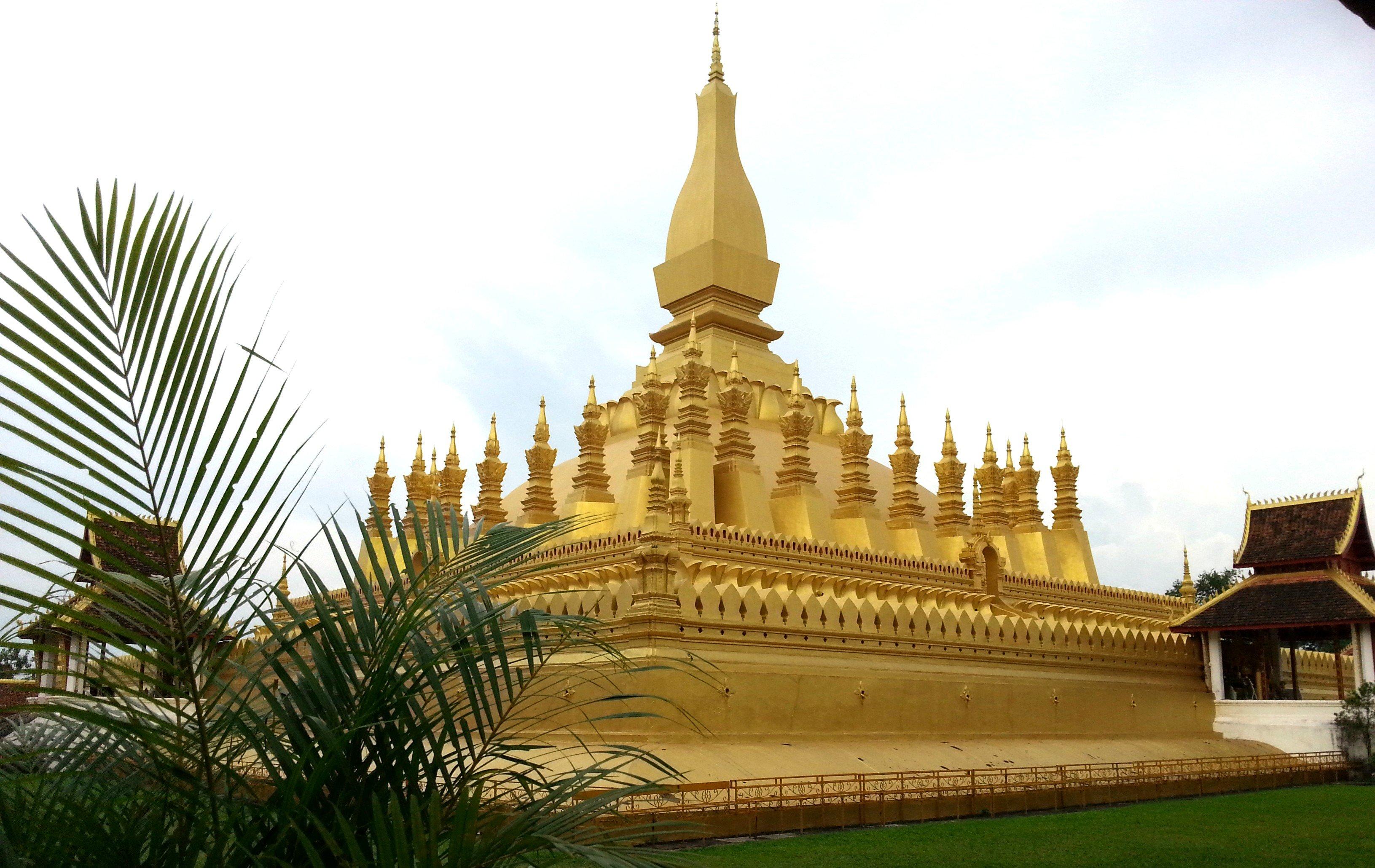 Wat Pha That Luang in Vientiane