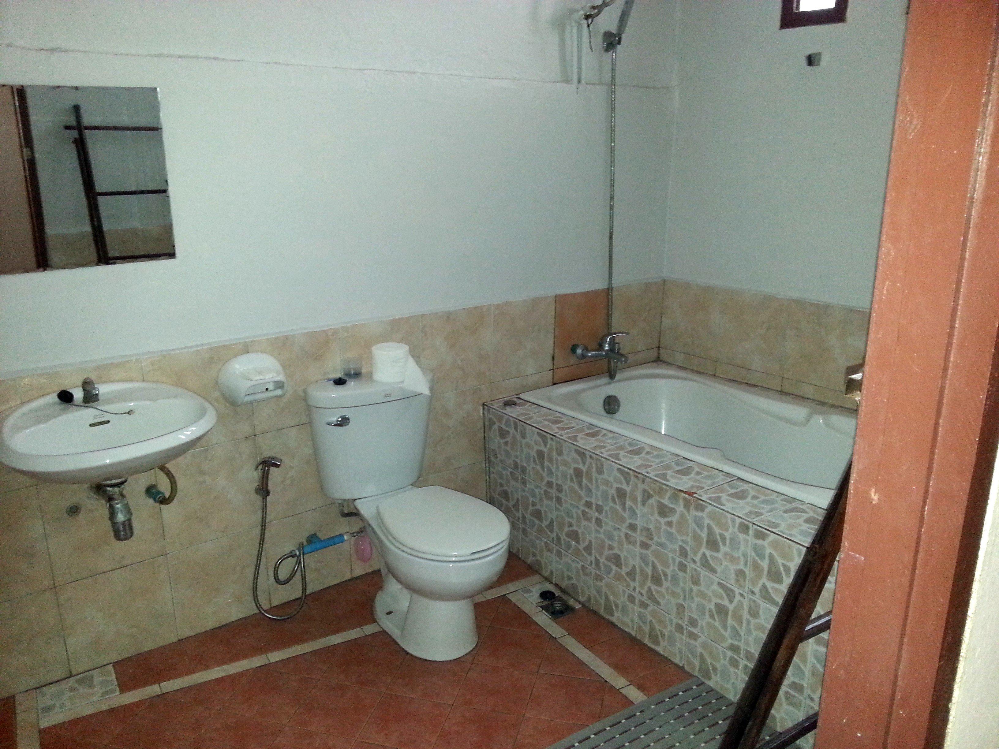 Bathroom in the big double room