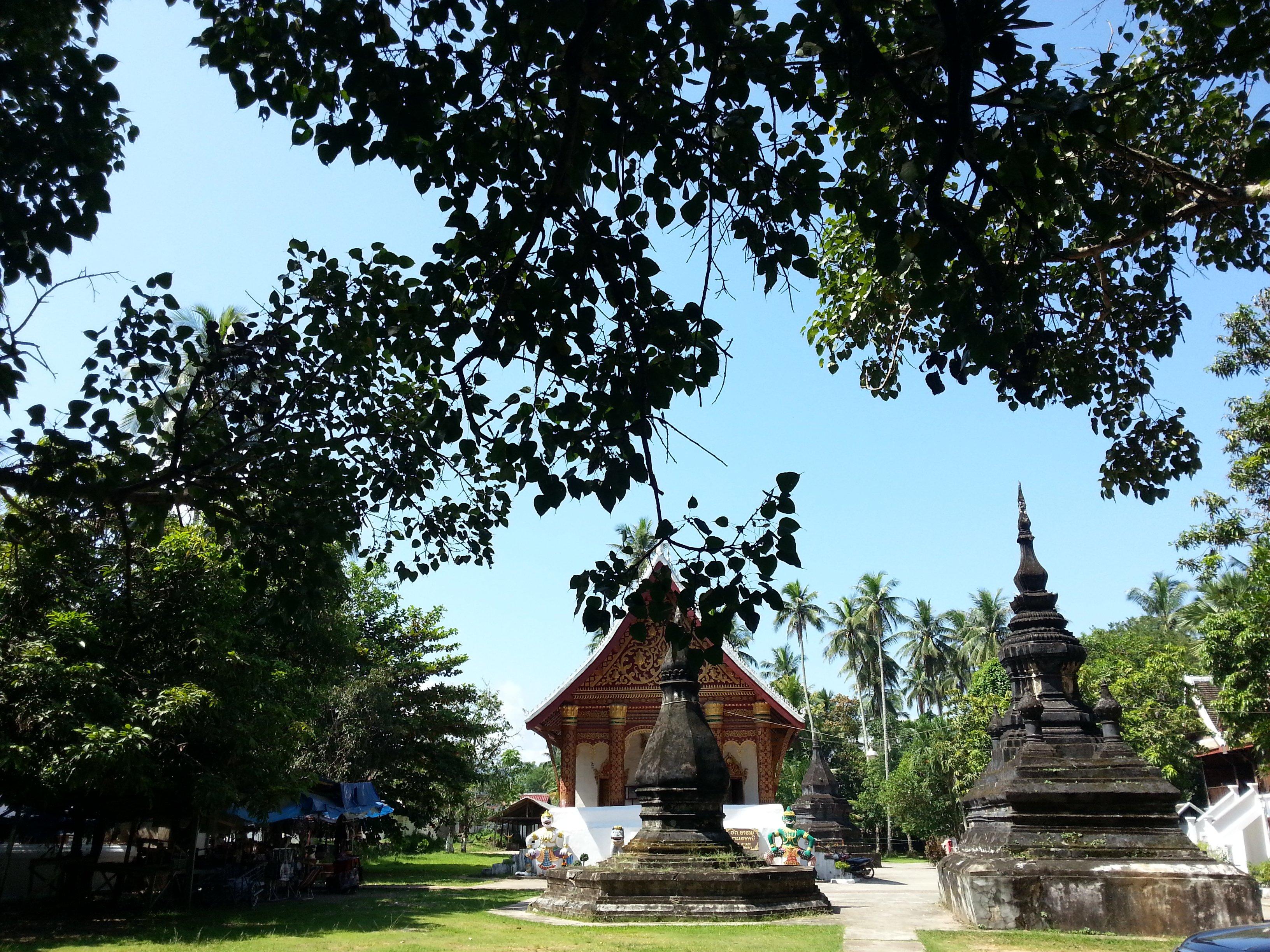 Stupa at Wat Aham
