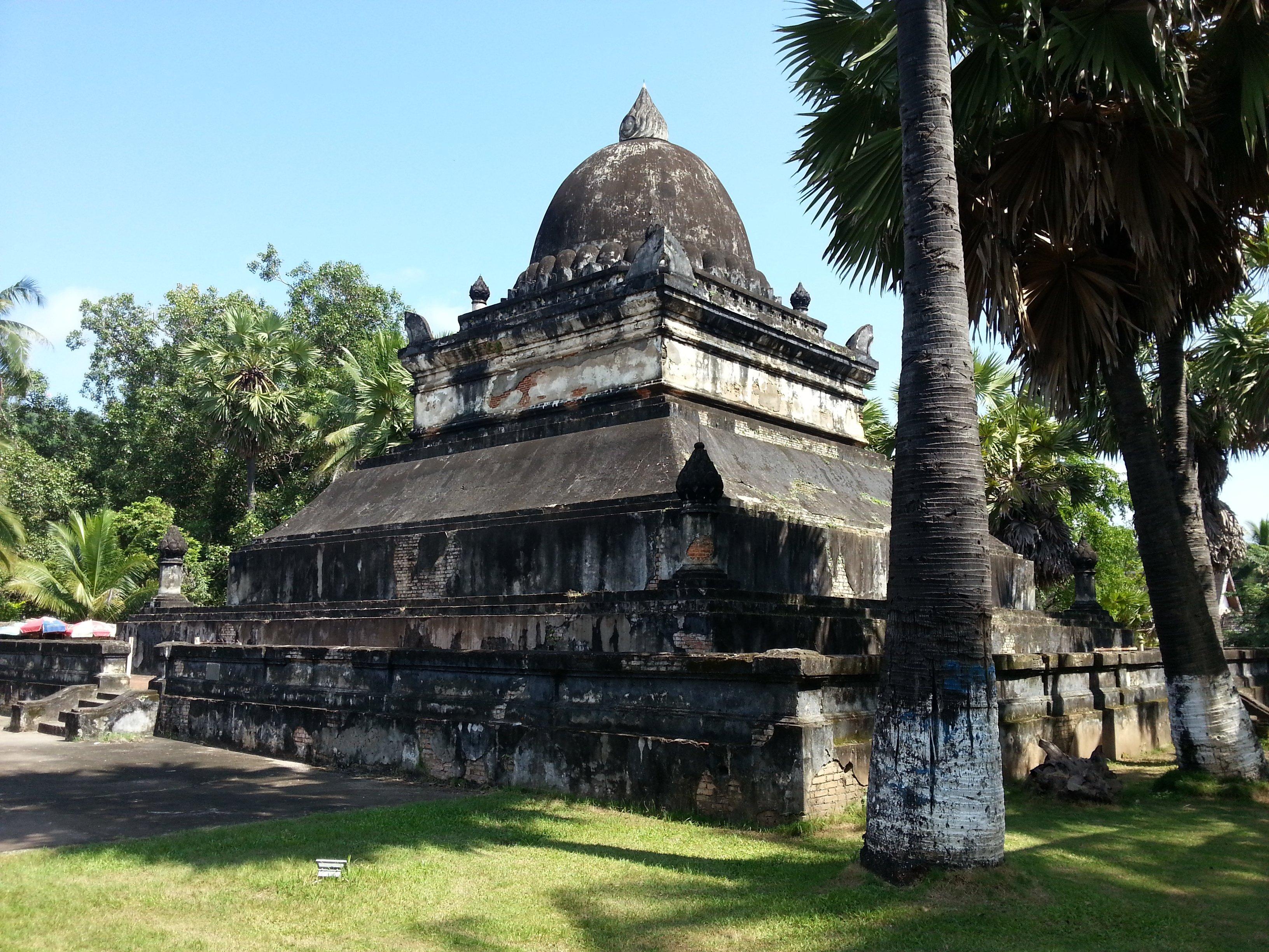 That Makmo - the watermelon stupa