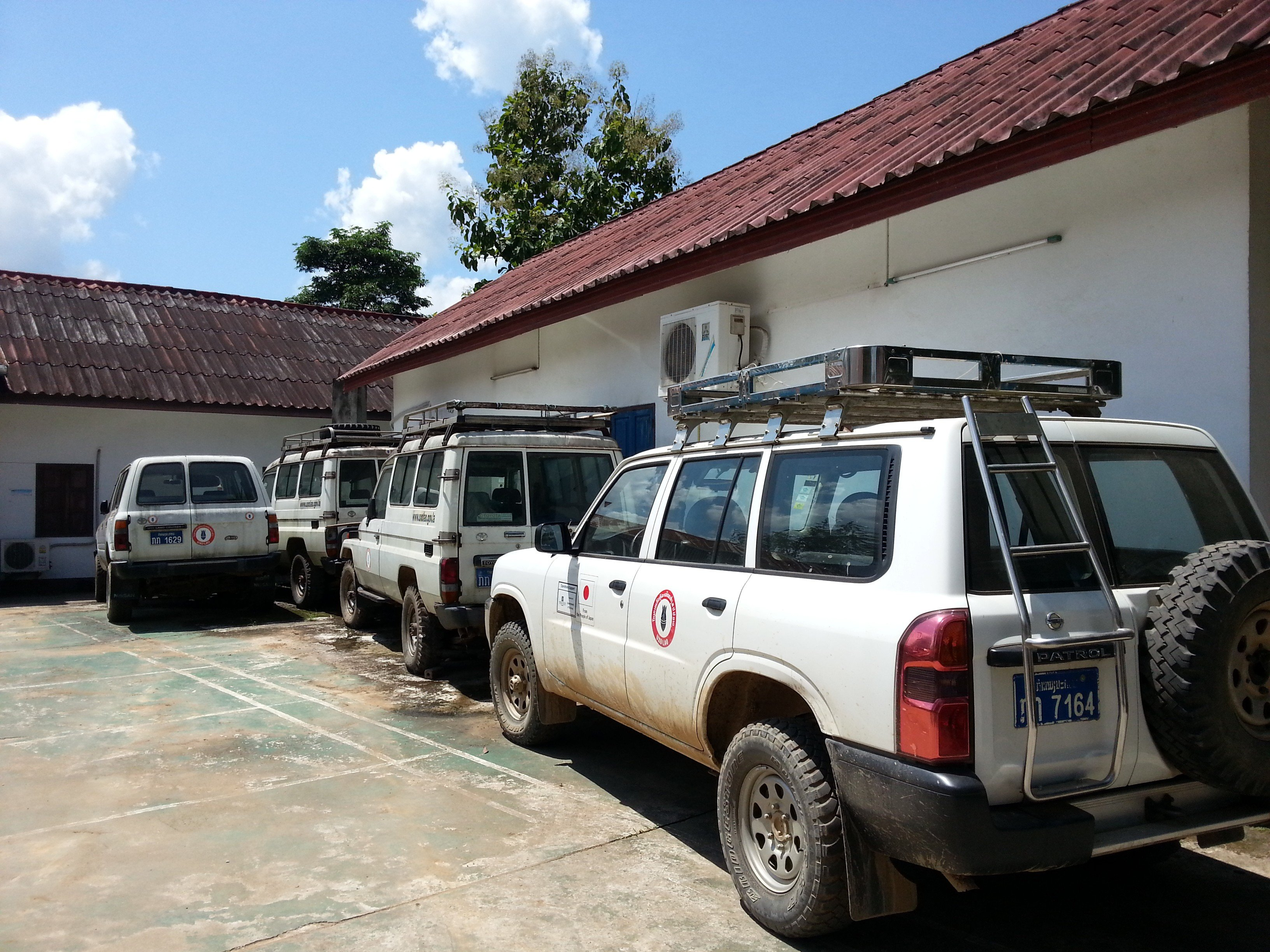 UXO Lao Luang Prabang vehicles