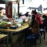 Food stall at Phoukam Garden Agriculture Wet Market