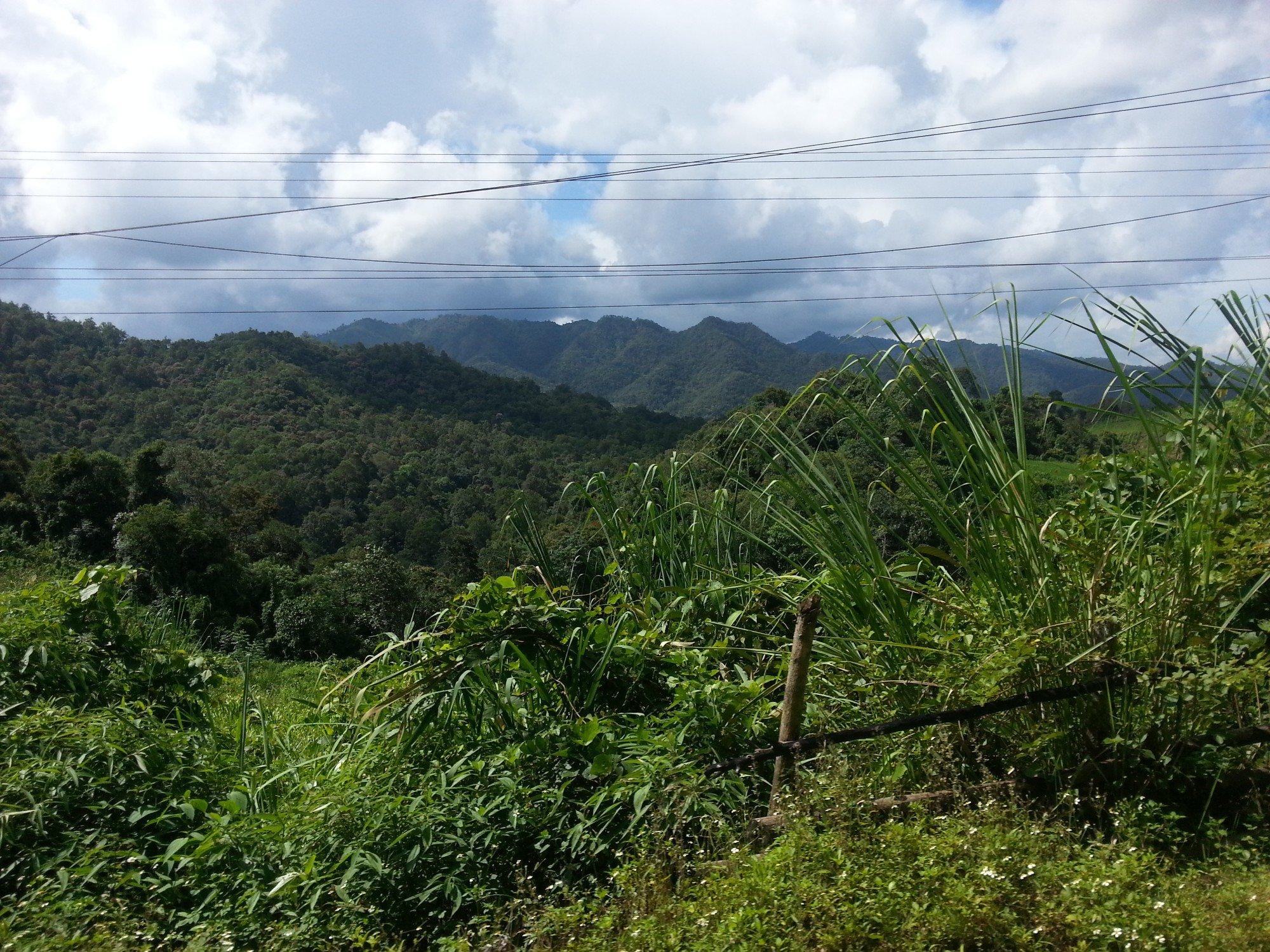 Fantastic scenery on route to Phonsavan